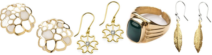 SteelOrchids | Gold Plated Silver Jewelry