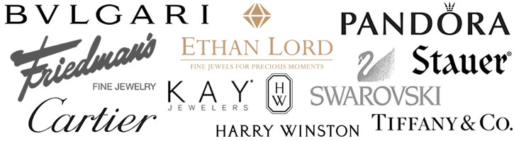 SteelOrchids | Logos of Global Jewelry Companies