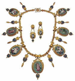 SteelOrchids | Parure of 17th century