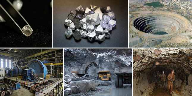 SteelOrchids | Stages of Diamond Mining