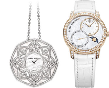 SteelOrchids | Watches of precious metals by Harry Winston
